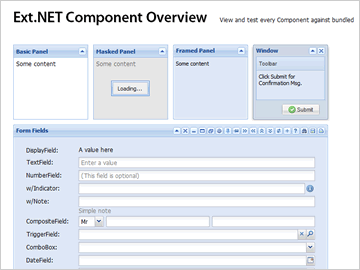 Ext.NET Examples Explorer