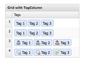 Ext.NET TagColumn within GridPanel Example