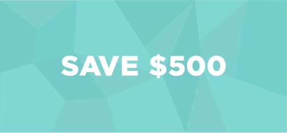 Save 500